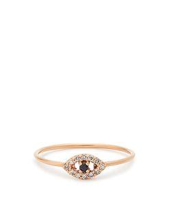 Ileana Makri | Diamond Sapphire Rosering