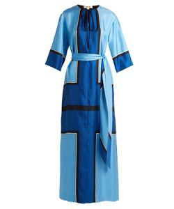 Diane Von Furstenberg | Scarf-Print Silk-Satin Maxi Dress