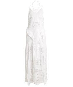 Jonathan Simkhai | Lace-Insert V-Neck Gown