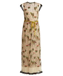Red Valentino | -Embroide Tulle Dress