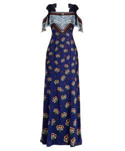Mary Katrantzou   Canasta Print Fil Coupé Gown