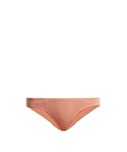 Skin | Tulle-Trimmed Organic-Cotton Briefs