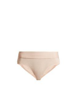 Skin | Hadlee Cotton-Blend Briefs