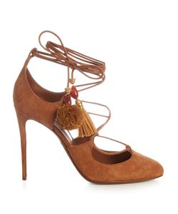 Dolce & Gabbana | Pom-Pom Tassel Suede Pumps