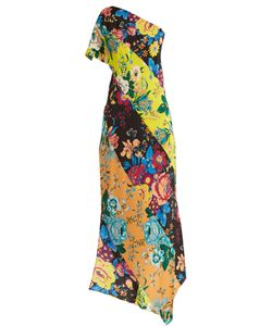 Diane Von Furstenberg | -Print One-Shoulder Silk Dress