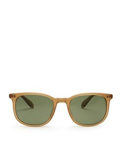 GARRETT LEIGHT   Bentley Rectangle-Frame Sunglasses