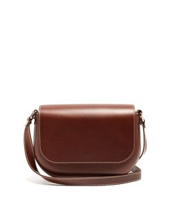 A.P.C. | James Leather Cross-Body Bag