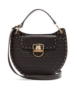 Balmain | 44-33 Quilted-Leather Shoulder Bag