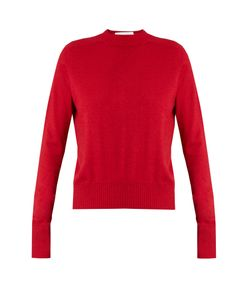 RAEY | Ribbed-Shoulder Silk And Cashmere-Blend Sweater