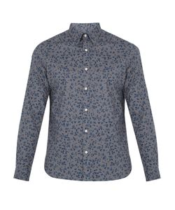 Burberry | Connock Print Cotton Shirt