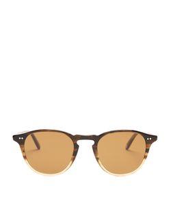GARRETT LEIGHT | Hampton 46 Round-Frame Sunglasses