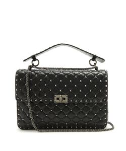 Valentino | Rockstud Spike Large Quilted Shoulder Bag