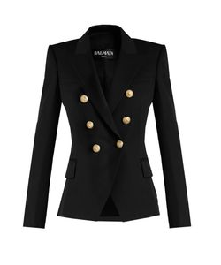 Balmain | Double-Breasted Wool Jacket