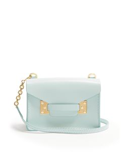 Sophie Hulme | Milner Nano Envelope Leather Cross-Body Bag