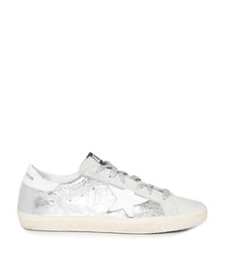 Golden Goose | Super Star Low-Top Leather And Suede Trainers