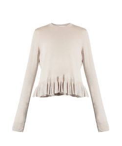 Elizabeth And James | Kent Ruffle-Trimmed Cotton-Blend Sweater