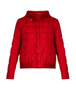 Moncler Gamme Rouge | Nastya Hooded Silk-Twill Jacket