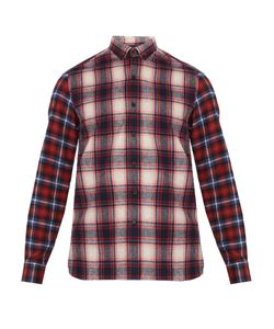 Lanvin | Checked Single-Cuff Cotton Shirt