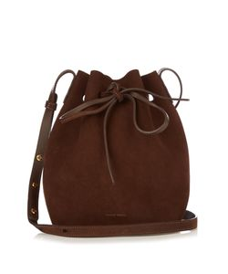 MANSUR GAVRIEL | -Lined Mini Suede Bucket Bag