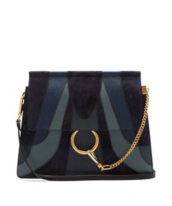 Chloe | Faye Medium Patchwork Leather Shoulder Bag