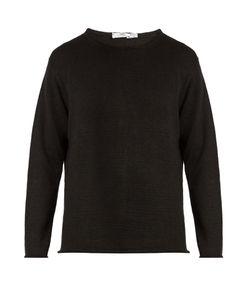 INIS MEÁIN | Crew-Neck Linen Sweater
