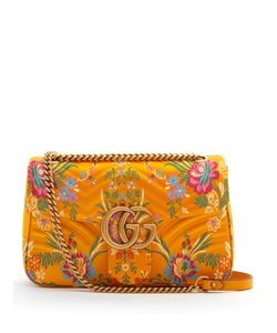 Gucci | Gg Marmont Jacquard Shoulder Bag