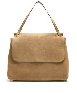 The Row | Top Handle 14 Suede Shoulder Bag