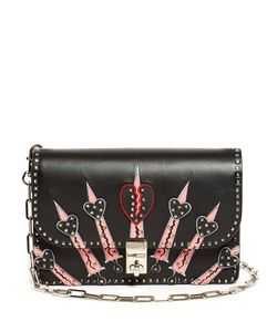 Valentino | Rockstud Love Blade Leather Shoulder Bag