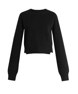 Haider Ackermann | Invidia Asymmetric-Hem Wool-Blend Sweater