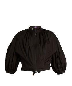 Y'S BY YOHJI YAMAMOTO   Balloon-Sleeve Cotton-Poplin Jacket