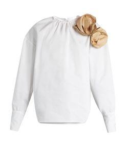 A.W.A.K.E. | Elegant Cotton-Poplin Blouse