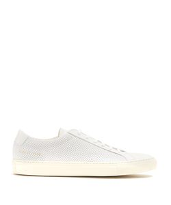 Common Projects | Achilles Low-Top Perforated Nubuck Trainers