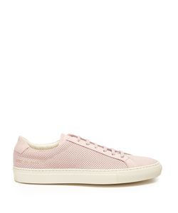 Common Projects | Achilles Low-Top Perforated-Leather Trainers
