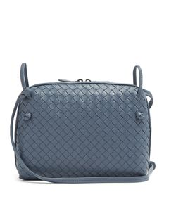 Bottega Veneta | Nodini Small Intrecciato Leather Cross-Body Bag