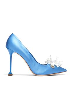 Miu Miu | Embellished Satin Pumps