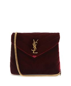 Saint Laurent | Loulou Velvet Shoulder Bag