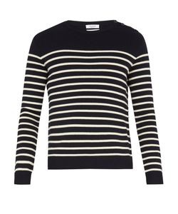 Valentino | Rockstud Untitled 7 Striped Wool Sweater