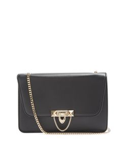 Valentino | Demilune Leather Shoulder Bag