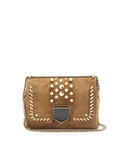 Jimmy Choo | Lockett Petite Suede Shoulder Bag