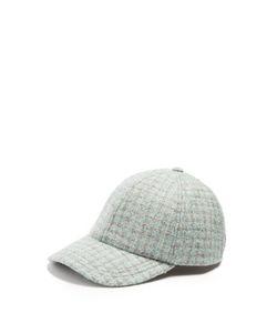 Larose | Vintage Tweed Wool-Blend Baseball Cap