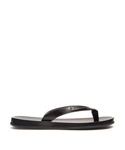 Dolce & Gabbana | Leather Flip-Flops