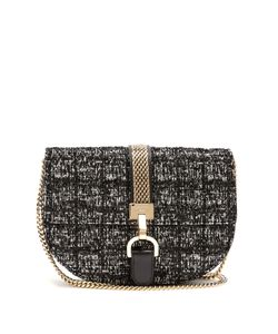 Lanvin | Lien Bouclé-Tweed Leather Cross-Body Bag
