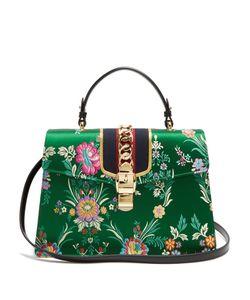 Gucci | Sylvie Jacquard Shoulder Bag