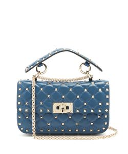 Valentino | Rockstud Spike Small Quilted-Leather Shoulder Bag