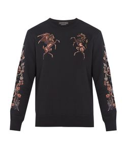 Alexander McQueen | Embroidered Cotton-Jersey Sweatshirt