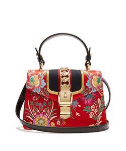 Gucci | Sylvie Mini Jacquard Shoulder Bag