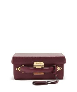 Mark Cross   Grace Small Grained-Lather Shoulder Bag