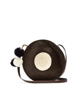 Sophie Anderson | Lella Circle Straw Cross-Body Bag