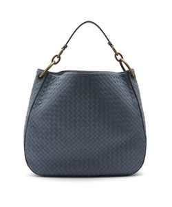 Bottega Veneta | Loop Large Intrecciato Leather Shoulder Bag