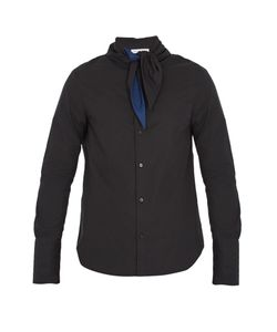 J.W. Anderson | Tie-Neck Cotton Shirt